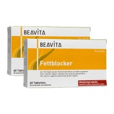 2 x BEAVITA Fat Blocker Tablets
