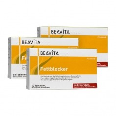 3 x BEAVITA Fat Blocker Tablets