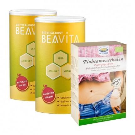 Beavita fiber diet: Vitalkost Double Pack + Govinda psyllium husks