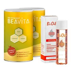 Beavita Firming-Diet: Vitalkost Double Pack + Bi-Oil Skin Care Oil