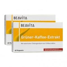 BEAVITA Grüner-Kaffee-Extrakt Doppelpack, Kapseln