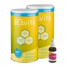 Beavita Kaloriensparset: Vitalkost Doppelpack + Stevia