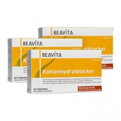 3 x Beavita Kohlenhydratblocker, Tabletten