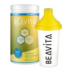 BEAVITA Vitalkost laktoositon -jauhe ja Slim Shaker