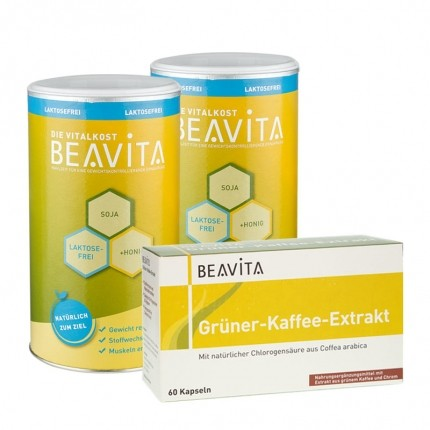 BEAVITA Natural Greens Diät: Doppelpack Vitalko...