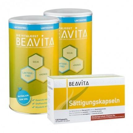BEAVITA Sättigungs-Paket: Doppelpack Vitalkost ...