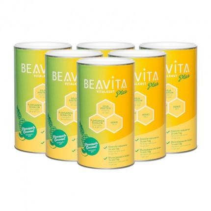 BEAVITA Vitalkost Plus, Kokos-Ananas