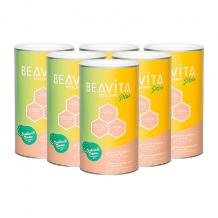 BEAVITA Profi Diät-Paket, Cookies-Cream