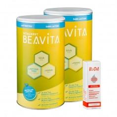 Beavita Straffungs-Diät: Vitalkost Doppelpack + Bi-Oil Hautöl