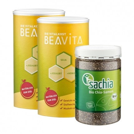 Beavita Superfood Diet: Vitalkost Diet + Sachia Organic Chia Seeds