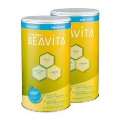BEAVITA Vitalkost laktosefrei Doppelpack, Pulver