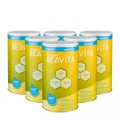 6 x BEAVITA Vitalkost laktosefrei, Pulver