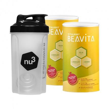 Beavita Vitalkost nu3-Starterpaket mit Shaker