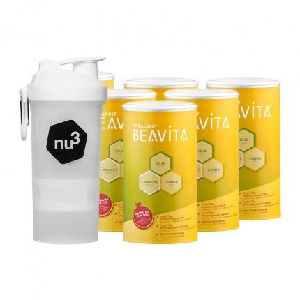 BEAVITA Vitalkost nu3-Profipaket mit original SmartShake