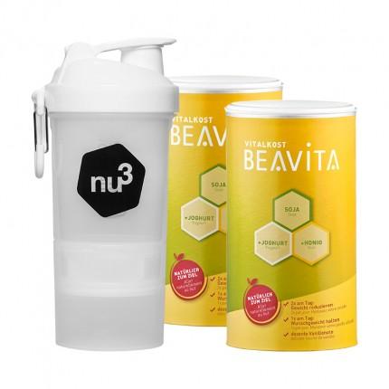 BEAVITA Vitalkost nu3-Starterpaket mit original...