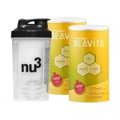BEAVITA Vitalkost nu3 Starterpaket mit Shaker