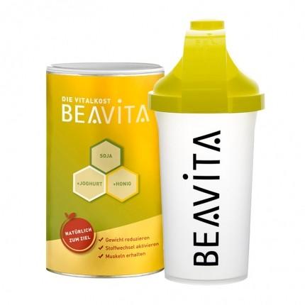BEAVITA Vitalkost nu3-Starterpaket mit Slim Shaker