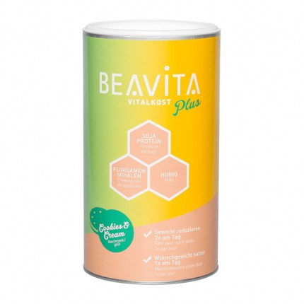 BEAVITA Vitalkost Plus, Cookies & Cream, Pulver