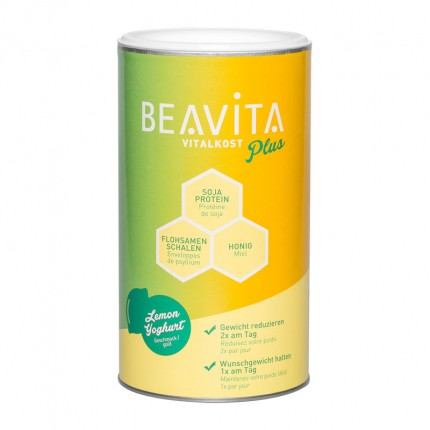 BEAVITA Vitalkost Plus, Joghurt-Zitrone, Pulver