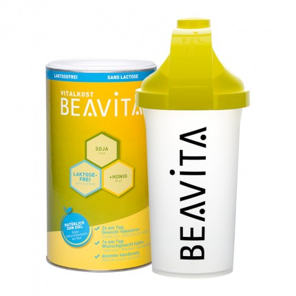 CH BEAVITA Vitalkost laktosefrei nu3-Starterpaket mit Slim Shaker