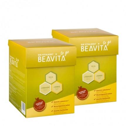 BEAVITA, Vitalkost to go, poudre, lot de 2