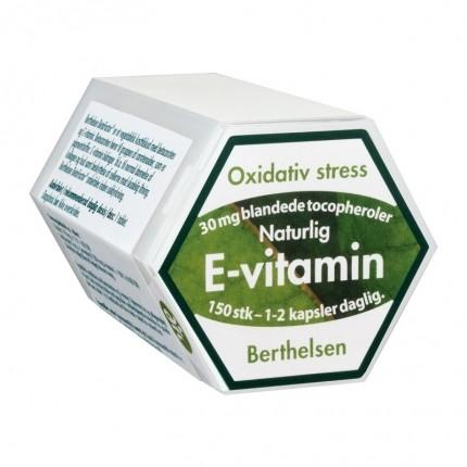 Berthelsen E-vitamin 30 mg