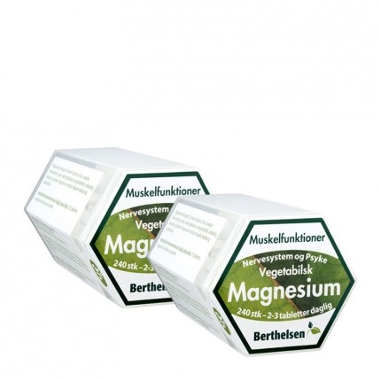 2 x Berthelsen Magnesium