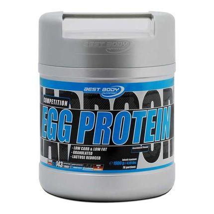Best Body Hardcore Protein 100% Egg Protein Vanilla Powder