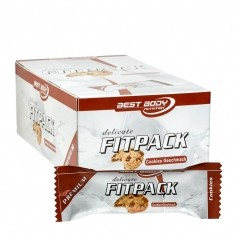 24 x Best Body Delicate Fitpack Cookies Riegel