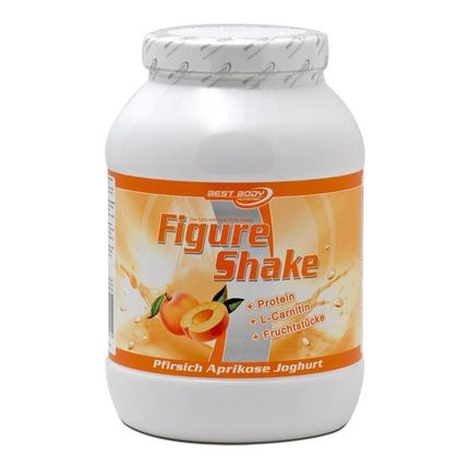 Best Body Nutrition Figure Shake, Pfirsich, Pulver