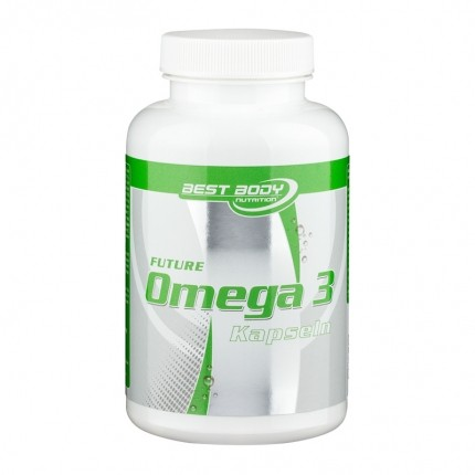 3 x Best Body Nutrition Omega 3 Lachsöl Kapseln