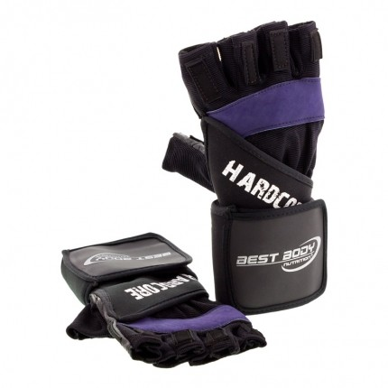 Best Body Nutrition Hardcore Gloves, XXL