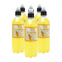 6 x Best Body Nutrition L-Carnitin Drink Ananas