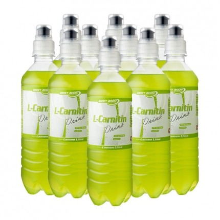 10 x Best Body Nutrition L-Carnitin Drink Lemon Lime