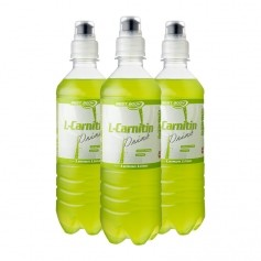 Best Body Nutrition, L-Carnitine, Citron vert, boisson, lot de 3