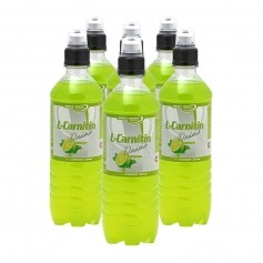 6 x Best Body Nutrition L-Carnitin Drink Lemon Lime