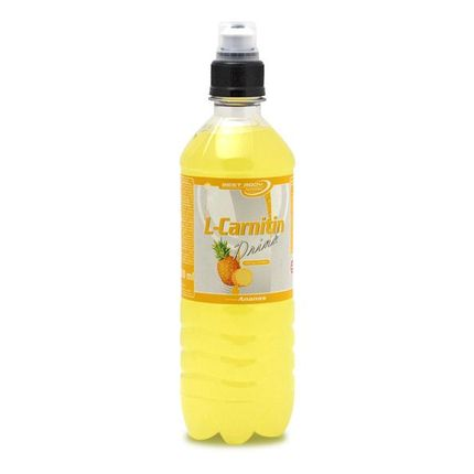 10 x Best Body Nutrition Pineapple L-Carnitine Drink
