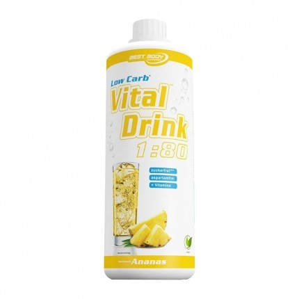 Best Body Nutrition Low Carb Vital Drink Ananas