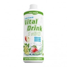 Best Body Nutrition Low Carb Vital Drink Apfel-Holunderblüte