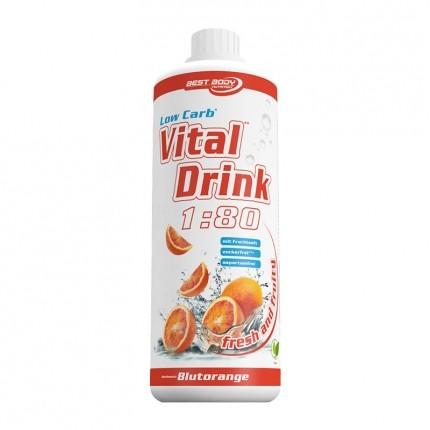 Best Body Nutrition Low Carb Vital Drink, Blutorange