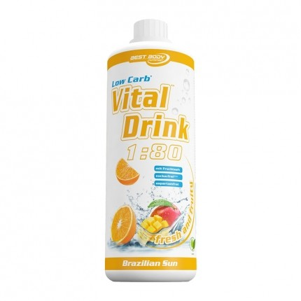 Best Body Nutrition Low Carb Vital Drink, Brazilian Sun