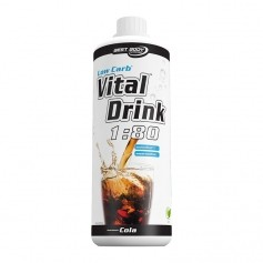 Best Body Nutrition Low Carb Vital Drink, Cola