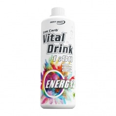 Best Body Nutrition Low Carb Vital Drink, Energy