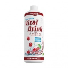 Best Body Nutrition Low Carb Vital Drink Kirsche