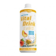 Best Body Nutrition Low Carb Vital Drink Pfirsich