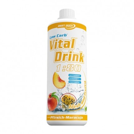 Best Body Nutrition Low Carb Vital Drink, Pfirsich