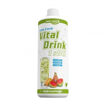 Best Body Nutrition Low Carb Vital Fig Drink