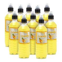 10 x Best Body Nutrition Pineapple L-Carnitine Drink