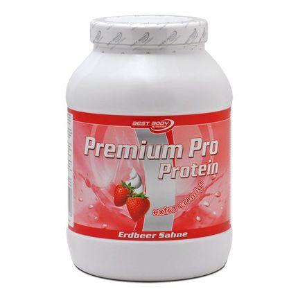 Best Body Nutrition Premium Pro Erdbeere, Pulver