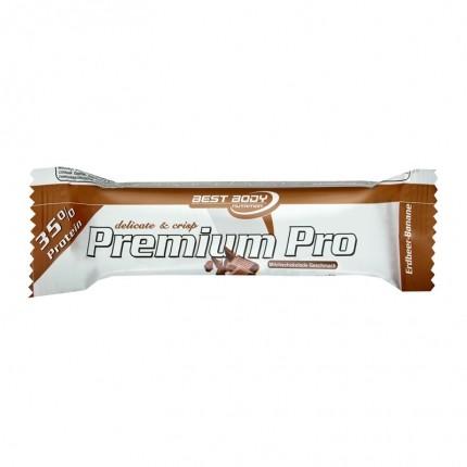 12 x Best Body Nutrition Premium Pro Bar Milchschokolade, Riegel